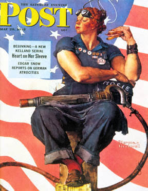 Rosie the Riveter (Norman Rockwell)